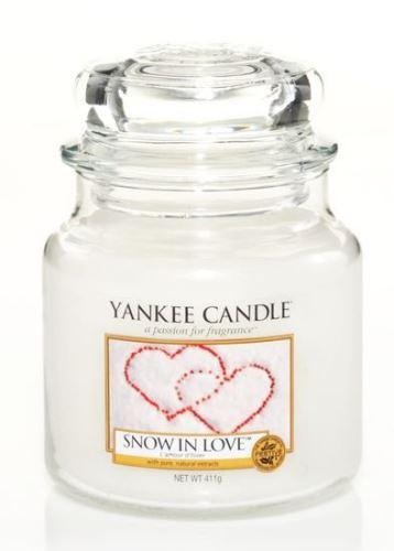 Yankee Candle Snow in Love vonná svíčka 411 g