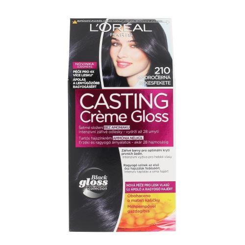 L'Oréal Paris Casting Creme Gloss 1ks W 210 Blue Black