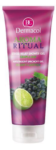Dermacol Aroma Ritual Shower Gel Grape&Lime sprchový gel 250 ml Pro ženy
