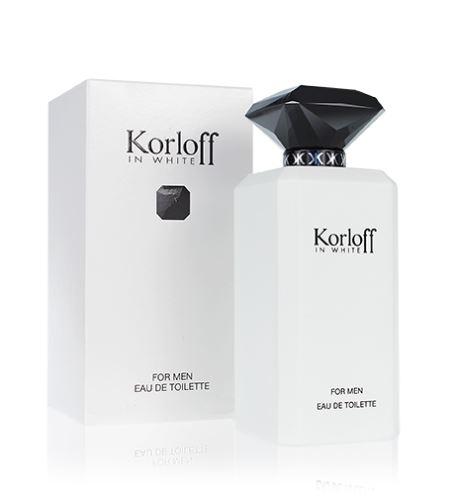 Korloff In White toaletní voda Pro muže