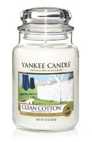 Yankee Candle Clean Cotton vonná svíčka 623 g