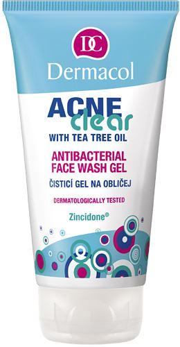 Dermacol Acneclear Antibacterial Face Wash Gel 150 ml