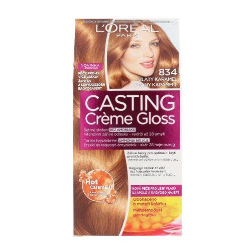 L'Oréal Paris Casting Creme Gloss 1ks W 834 Hot Caramel