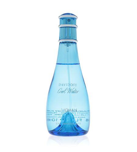 Davidoff Cool Water Woman deodorant s rozprašovačem 100 ml Pro ženy