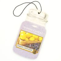 Yankee Candle TAG classic Lemon lavender visačka 1 ks