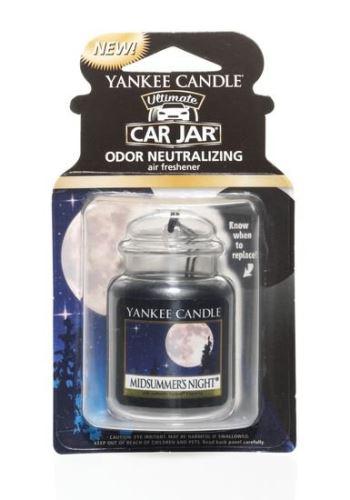 Yankee Candle Osvěžovač do auta Letní noc 1x visačka