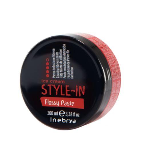 Inebrya STYLE-IN Flossy Paste pasta na vlasy 100 ml