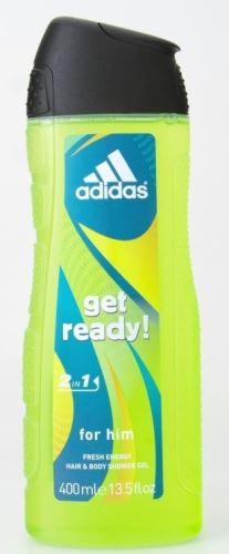 Adidas Get Ready! Sprchový gel 400 ml M
