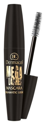 Dermacol Mega Lashes Dramatic Look Mascara 13 ml - Black