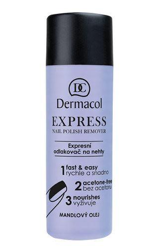 Dermacol Express Nail Polish Remover 120 ml W