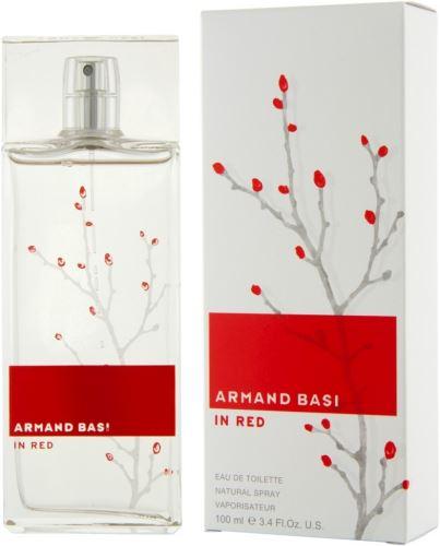 Armand Basi In Red toaletní voda 100 ml Pro ženy