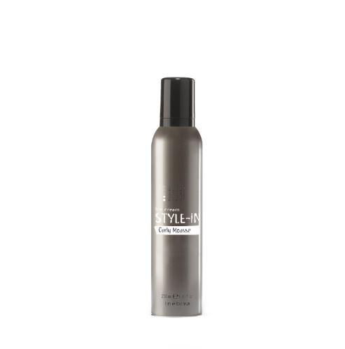 Inebrya STYLE-IN Curly Mousse pěna pro kudrnaté vlasy 250 ml