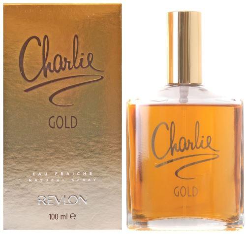 Revlon Charlie Gold Eau Fraiche toaletní voda 100 ml Pro ženy