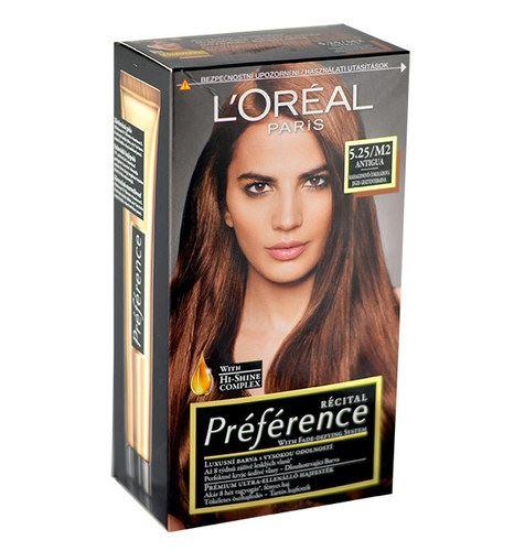 L'Oréal Paris Préférence Récital Hair Colour 1ks W 5,25-M2 Antigua