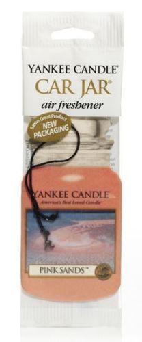 Yankee Candle TAG classic Pink sands vonná visačka 1 ks