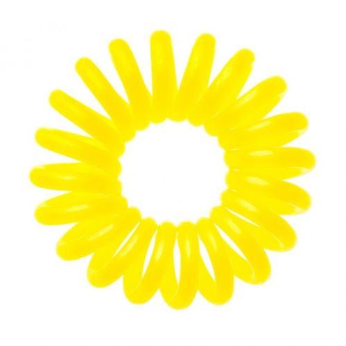 bIFULL Gumička do vlasů 3ks - žlutá