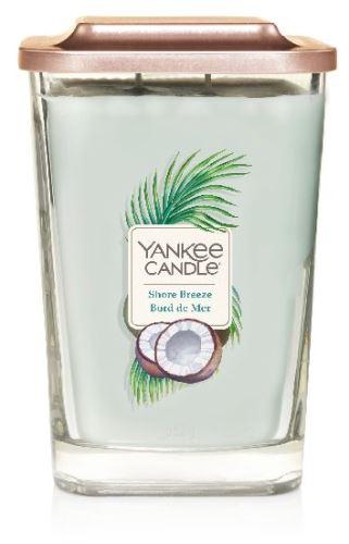 Yankee Candle Elevation 2 wicks Shore Breeze vonná svíčka 552 g