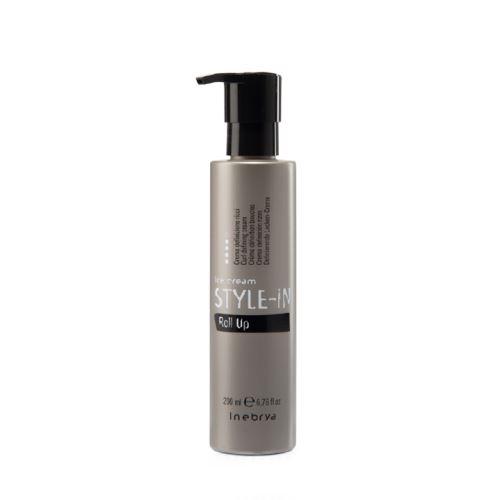 Inebrya STYLE-IN Roll Up krém pro vlanité vlasy 200 ml
