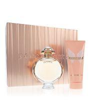 Paco Rabanne Olympéa parfémovaná voda 80 ml + tělové mléko 100 ml Pro ženy dárková sada
