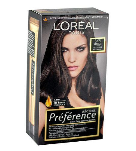 L'Oréal Paris Préférence Récital Hair Colour 1ks W 3-B Brasilia