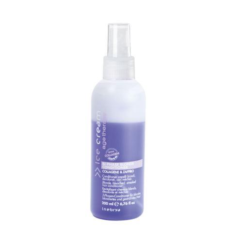 Inebrya AGE THERAPY Bi-Phase Blonde Conditioner dvoufázový kondicionér 200 ml