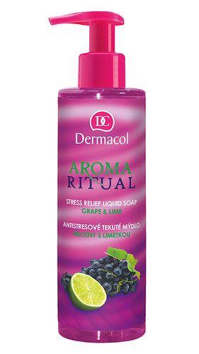 Dermacol Aroma Ritual Liquid Soap Grape&Lime 250 ml W