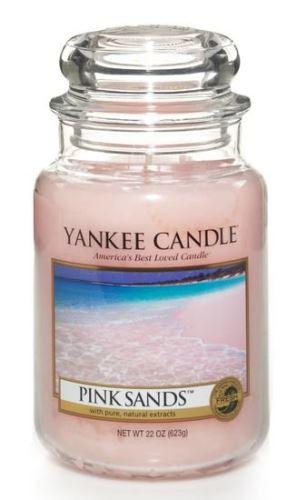 Yankee Candle Pink Sands vonná svíčka 623 g