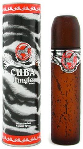 Cuba Jungle Zebra parfémovaná voda 100 ml Pro ženy