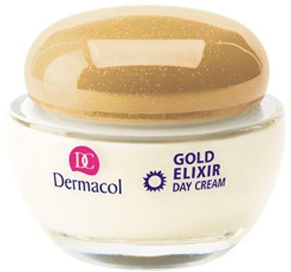 Dermacol Gold Elixir denní omlazující krém s kaviárem 50 ml