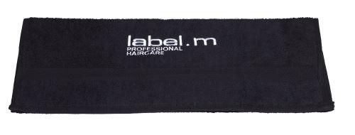 label.m Ručník černý