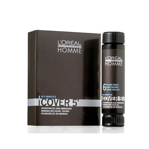 L'Oréal Professionnel Homme Cover 5 Hair Color 3x50 ml M 6 Dark Blond