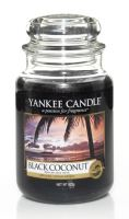 Yankee Candle Black Coconut vonná svíčka 623 g