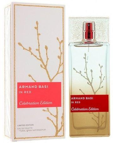 Armand Basi In Red Celebration toaletní voda 100 ml Pro ženy